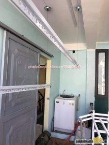 Lắp giàn phơi thông minh Hòa Phát HP701 giá rẻ tại Tây Hồ, Hà Nội