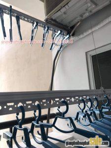 lắp giàn phơi Hòa Phát KS950 tại Sài Đồng, Long Biên