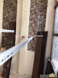 Lắp giàn phơi Hòa Phát giá rẻ tại Cầu Giấy nhà chị Tuyết