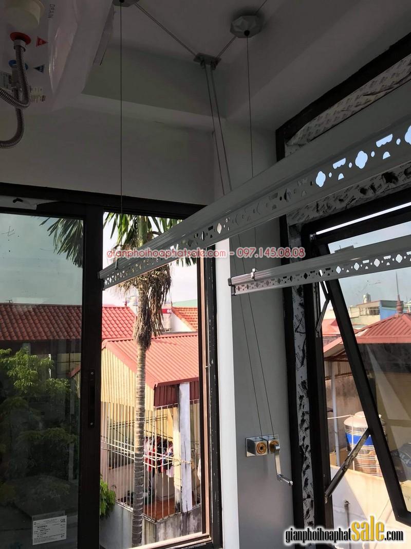 Hình ảnh lắp giàn phơi tại Long Biên, bộ Hòa Phát HP999B nhà anh Chiến - 01