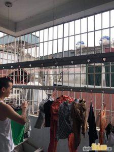 Sửa giàn phơi Hoà Phát: Hình ảnh thực tế tại nhà anh Dũng, Đại học Y Hà Nội