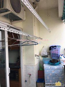 Thay linh kiện giàn phơi thông minh Hòa Phát giá rẻ: thay bộ tời tại nhà chị Vân, Hoàng Mai Hà Nội - 01