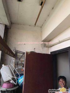 Thay dây cáp giàn phơi Hòa Phát tại Chung cư Học viện Hậu Cần