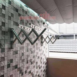 giàn phơi gắn tường Hòa Phát 68A hay còn gọi là giàn phơi gắn tường Hàn Quốc