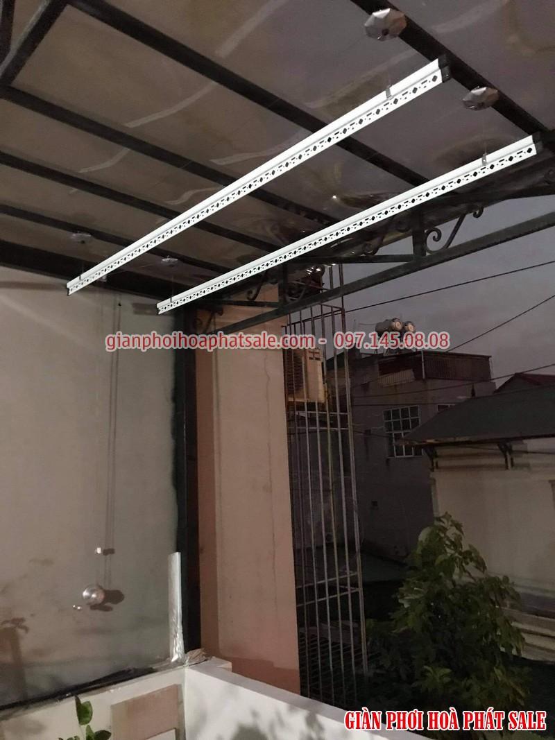Lắp giàn phơi tại Long Biên, bộ giá rẻ ks950 tại nhà anh Trí, số 10 phố Kẻ Tạnh - 02