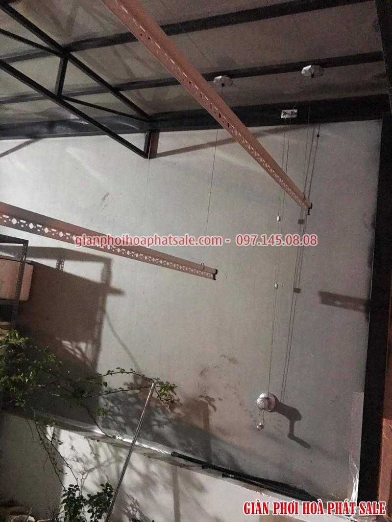 Lắp giàn phơi tại Long Biên, bộ giá rẻ ks950 tại nhà anh Trí, số 10 phố Kẻ Tạnh - 05
