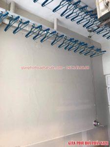 Lắp giàn phơi Hòa Phát HP701 giảm giá 50% tại chung cư Hồ Gươm Plaza Hà Đông nhà anh Tiến - 03