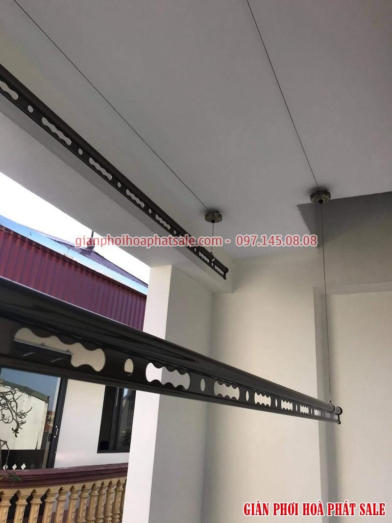 Hình ảnh lắp giàn phơi tại Long Biên nhà anh Hà: mẫu Hòa Phát HP300 tốt nhất 2020 - 03