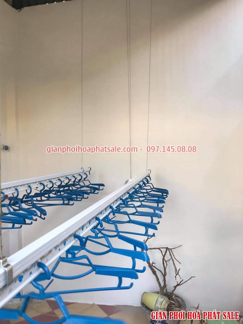 Lắp giàn phơi thông minh Thanh Xuân giá rẻ tại nhà anh Hạnh: bộ KS980 - 03