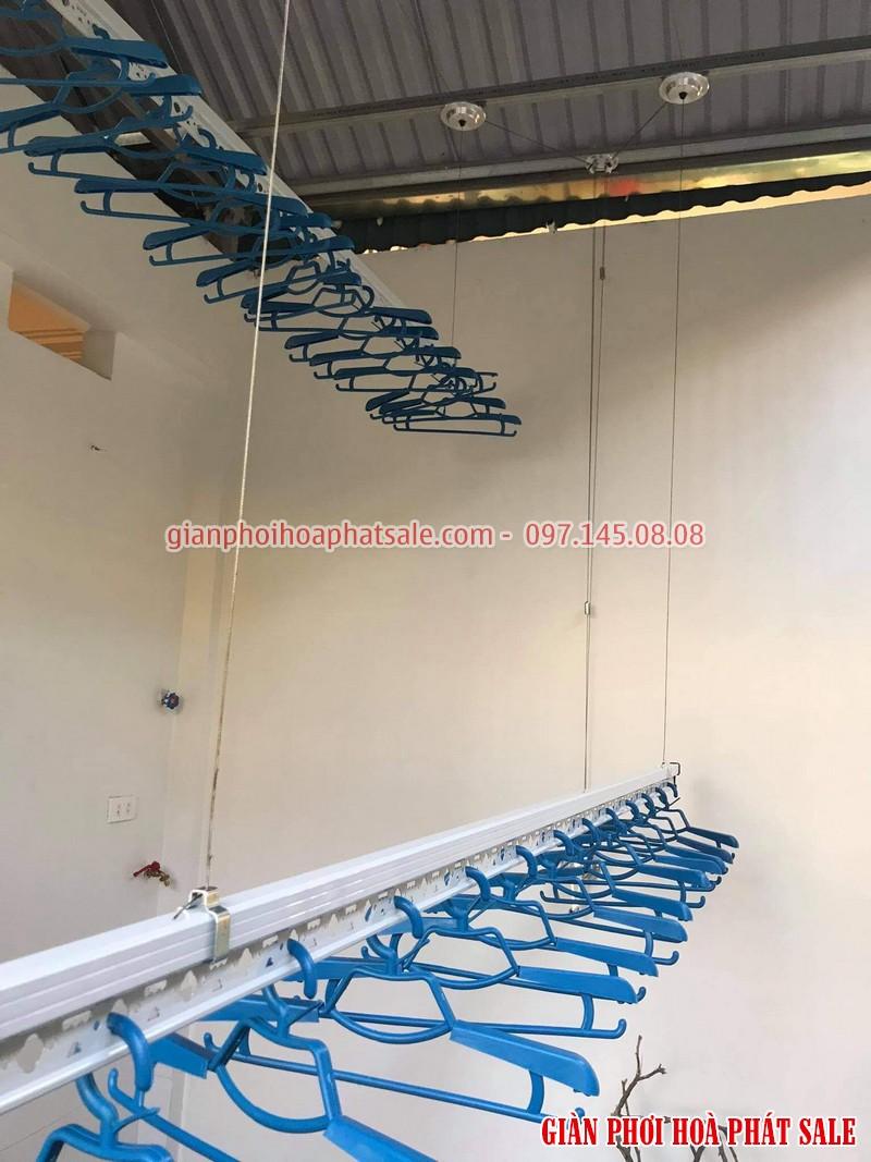 Lắp giàn phơi thông minh Thanh Xuân giá rẻ tại nhà anh Hạnh: bộ KS980 - 04