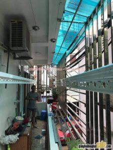 Lắp giàn phơi thông minh Thanh Xuân bộ Hòa Phát HP701 nhà chị Nhã, ngõ 42 Triều Khúc - 06