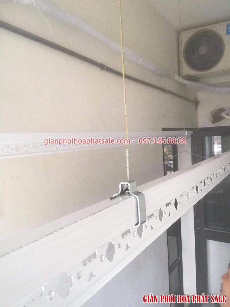 Lắp giàn phơi tại Hà Đông bộ ks950 nhà anh Toàn - 01