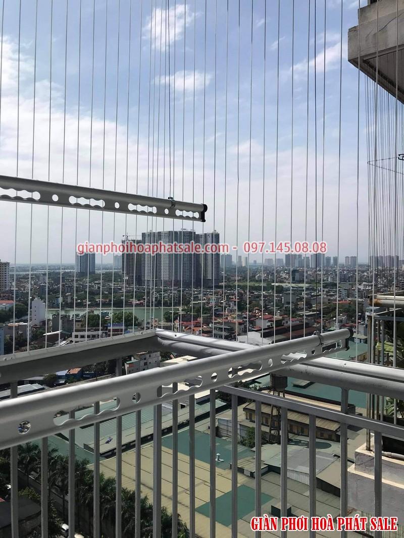 Lắp giàn phơi tại Thanh Xuân, chung cư Hạ Đình Tower bộ Hòa Phát HP300 cao cấp - 05