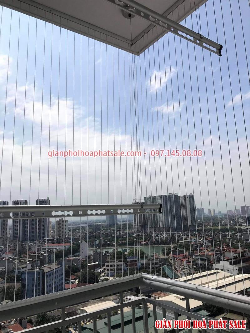 Lắp giàn phơi tại Thanh Xuân, chung cư Hạ Đình Tower bộ Hòa Phát HP300 cao cấp - 06