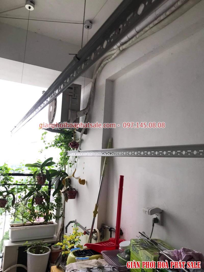 Sửa giàn phơi tại Hoàng Mai, ở chung cư Hateco nhà chị Hằng - 02
