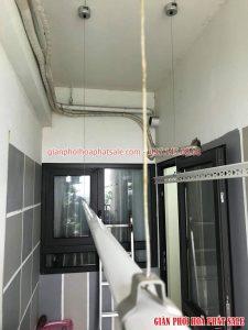 Sửa giàn phơi tại Hoàng Mai, ở chung cư Hateco nhà chị Hằng - 03