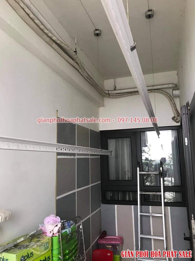 Sửa giàn phơi tại Hoàng Mai, ở chung cư Hateco nhà chị Hằng - 04