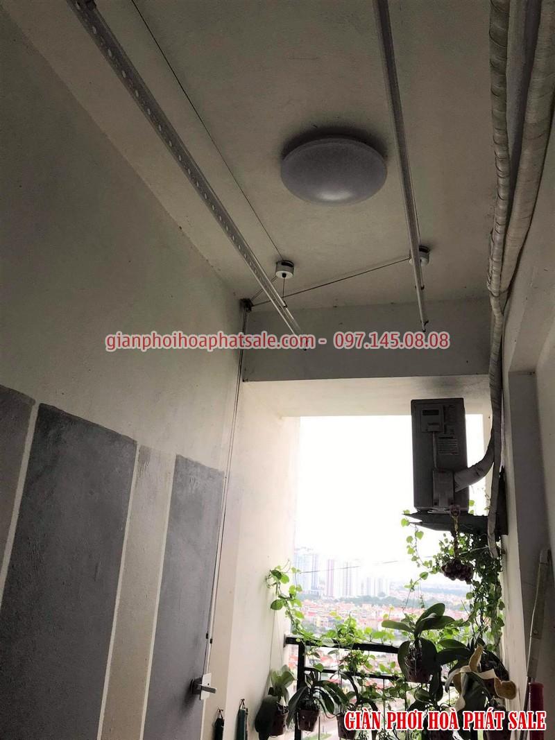 Sửa giàn phơi tại Hoàng Mai, ở chung cư Hateco nhà chị Hằng - 05