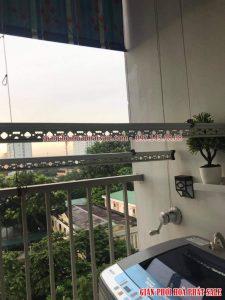 Sửa giàn phơi tại Long Biên: thay dây cáp chỉ 250k tại nhà anh Hùng,chung cư K33 Bộ Quốc Phòng - 05