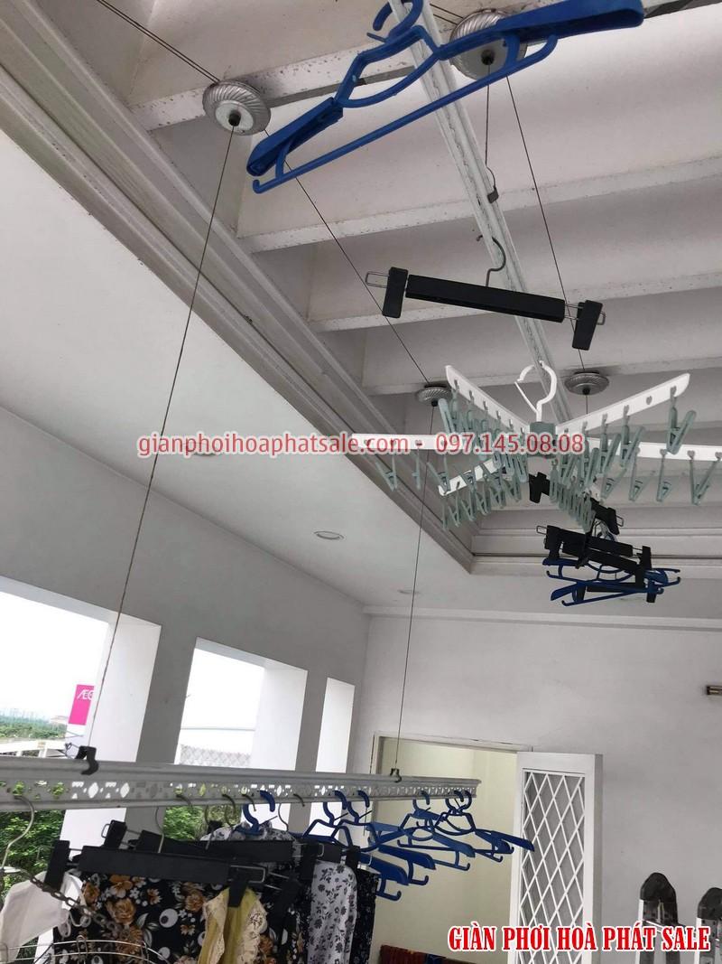 Sửa giàn phơi Long Biên: thay toàn bộ dây cáp nhà cô Hoa, ngoc 206/2 Cổ Linh - 01