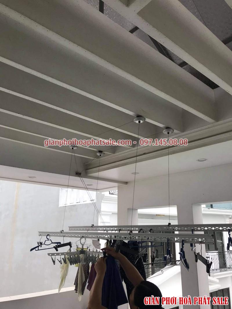 Sửa giàn phơi Long Biên: thay toàn bộ dây cáp nhà cô Hoa, ngoc 206/2 Cổ Linh - 02