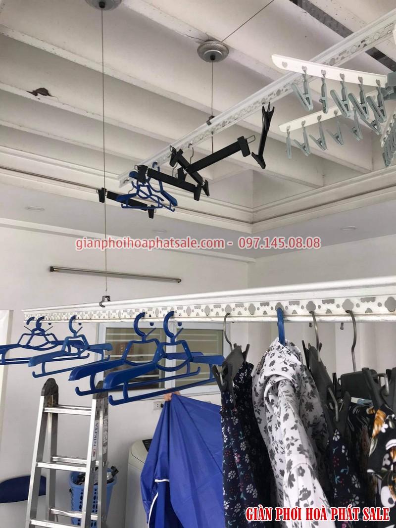 Sửa giàn phơi Long Biên: thay toàn bộ dây cáp nhà cô Hoa, ngoc 206/2 Cổ Linh - 05