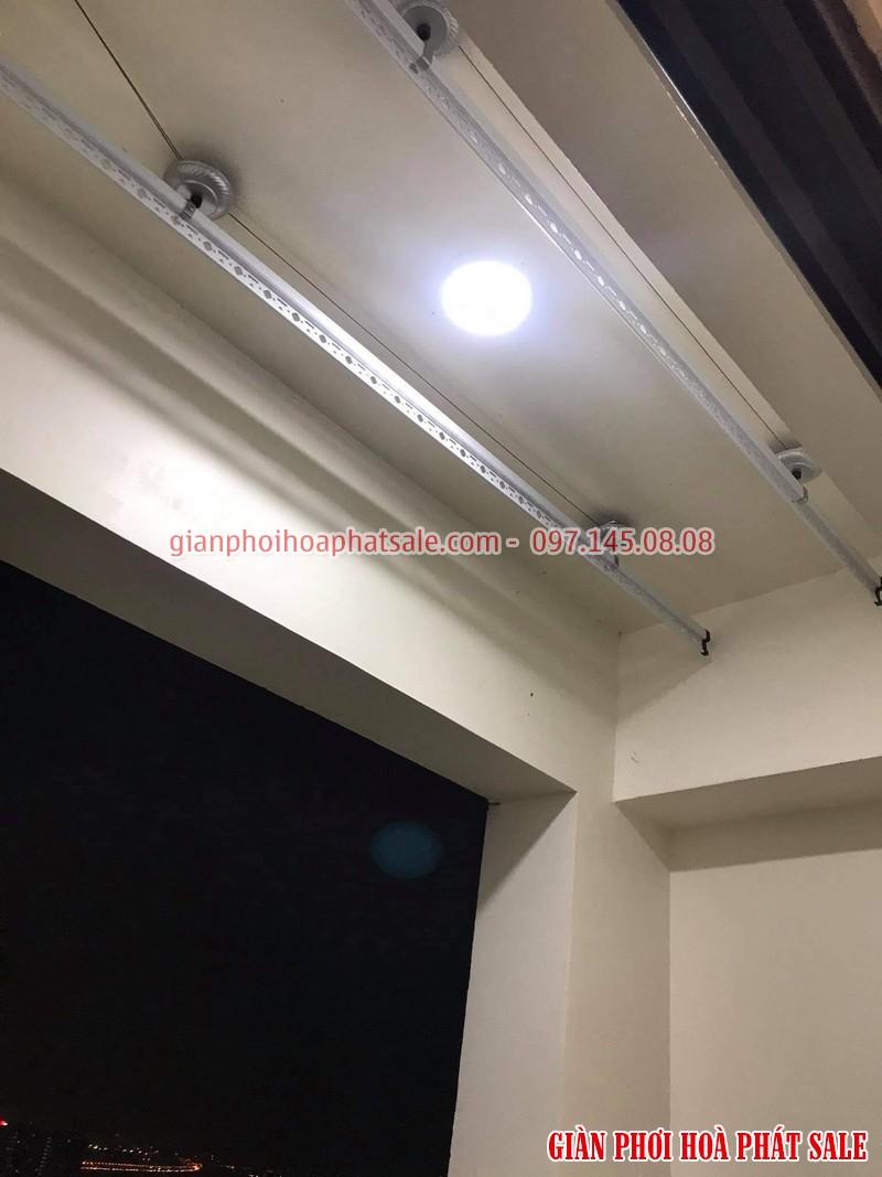 Lắp giàn phơi Hoàng Mai giá rẻ tại chung cư Sunshine palace nhà chị Loan - 06