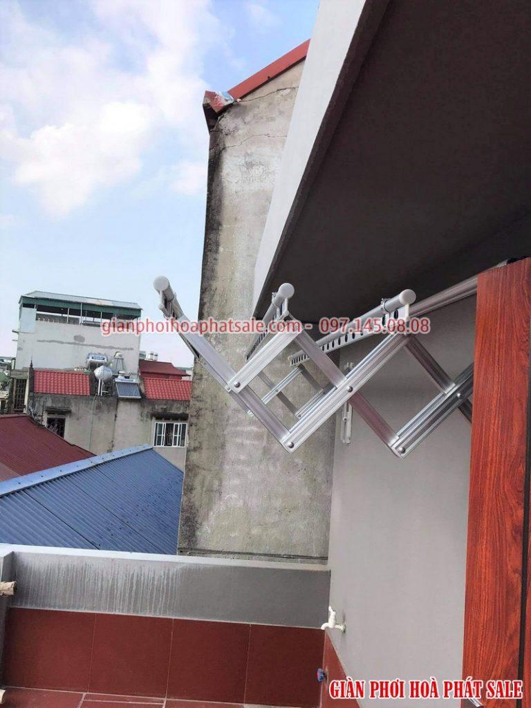 Lắp giàn phơi tại Long Biên bộ kéo ngang xịn tại nhà anh Tùng, ngõ 286 Ngọc Thụy - 07