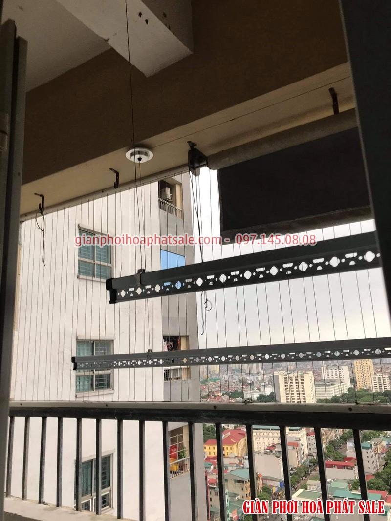 Hình ảnh lắp giàn phơi tại Thanh Trì nhà chị Thiêm, chung cư ct5 Yên Xá - 03