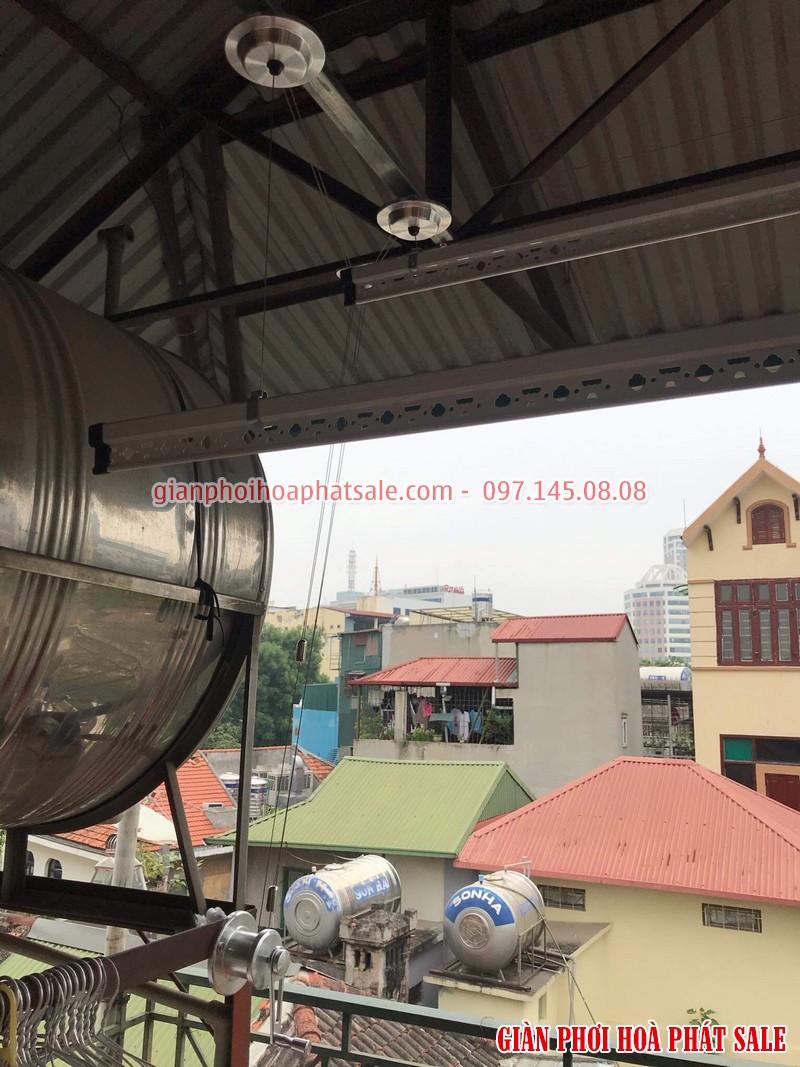 Hình ảnh lắp giàn phơi tại Hoàn Kiếm nhà anh Kiên, 87b Lý Thường Kiệt - 04
