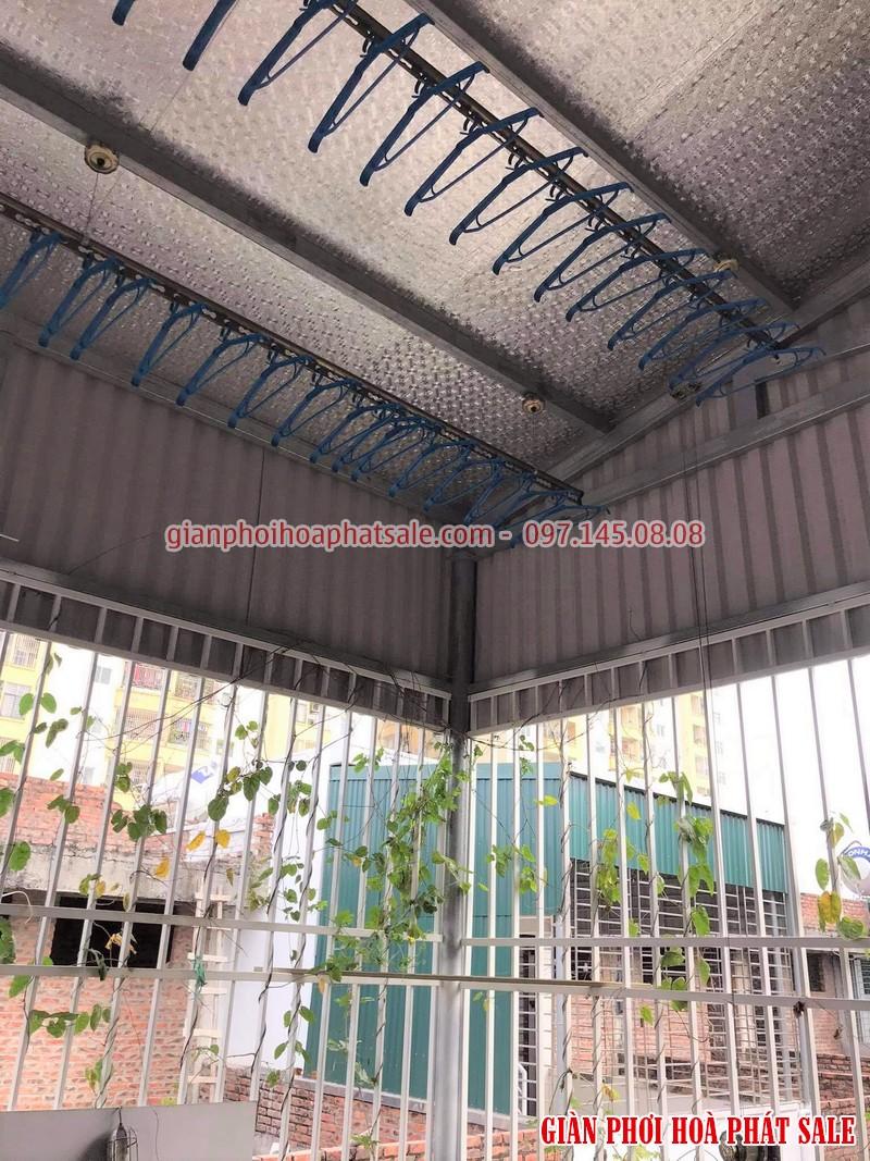 Hình ảnh lắp giàn phơi HP300 tại Hoàng Mai nhà anh Thu, ngõ 79 Thanh Đàm
