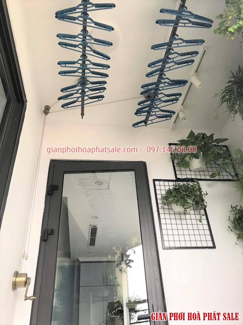 Lắp giàn phơi Tây Hồ, chung cư 59 Xuân Diệu nhà chị Nhung - 05