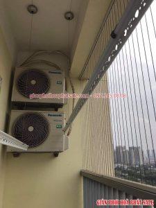 Sửa giàn phơi quần áo tại Nam Từ Liêm, thay dây cáp cho nhà anh Toán, chung cư CT1B Vinaconex Trung Văn - 07