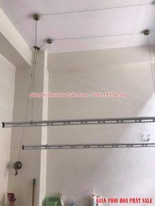 Hình ảnh giàn phơi Hòa Phát HP300 lắp tại nhà chị Hải, 477 Kim Ngưu - 07