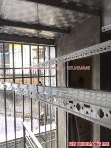 Lắp giàn phơi Hoàng Mai bộ Hòa Phát HP701 tại ngõ 141 Trương Định - 06