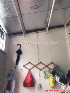 Lắp giàn phơi tại Đông Anh nhà chị Lệ, xã Mai Lâm - 07