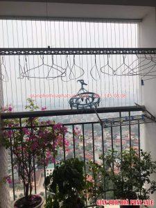 Sửa chữa giàn phơi tại Hoàng Mai: thay dây giàn phơi thông minh ở chung cư 87 Lĩnh Nam - 01