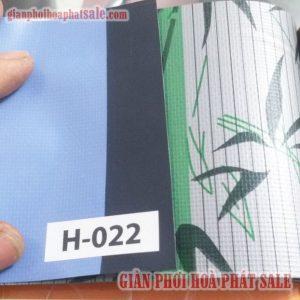 Mẫu bạt che nắng H-022