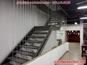 Lưới bảo vệ cầu thang có công dụng gì?