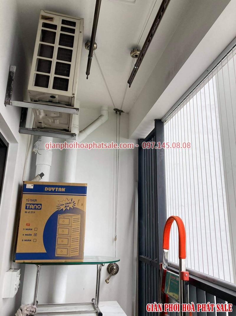 Lắp giàn phơi tại Gamuda City nhà anh Kiên, chung cư The Zen - 04
