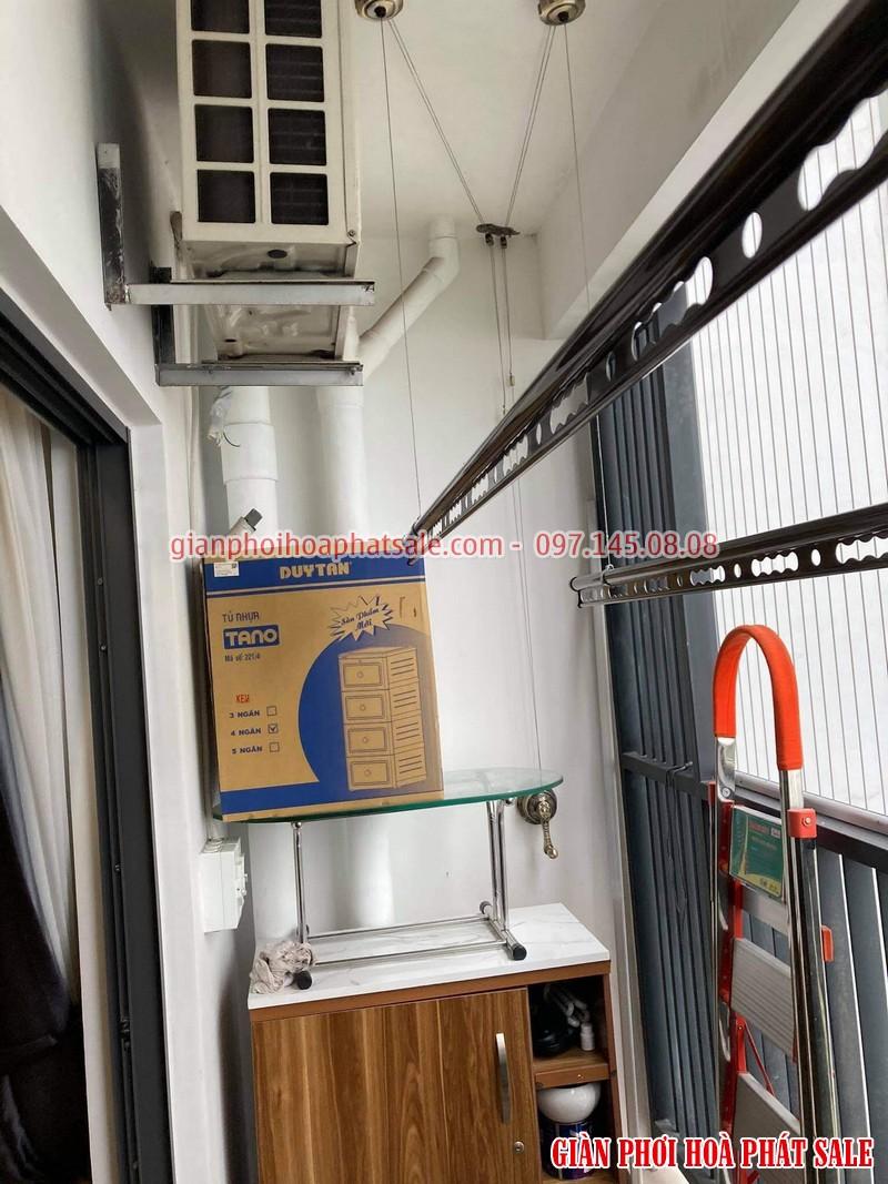Lắp giàn phơi tại Gamuda City nhà anh Kiên, chung cư The Zen - 07