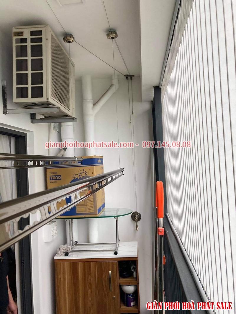 Lắp giàn phơi tại Gamuda City nhà anh Kiên, chung cư The Zen - 01