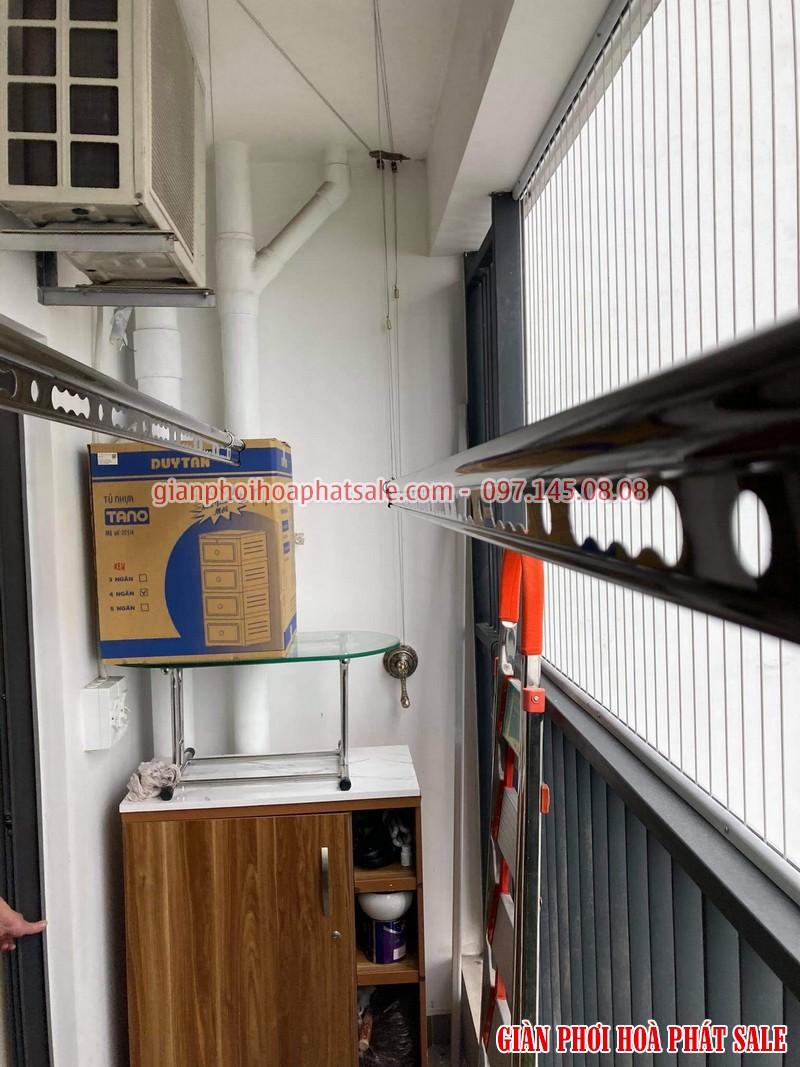 Lắp giàn phơi tại Gamuda City nhà anh Kiên, chung cư The Zen - 02