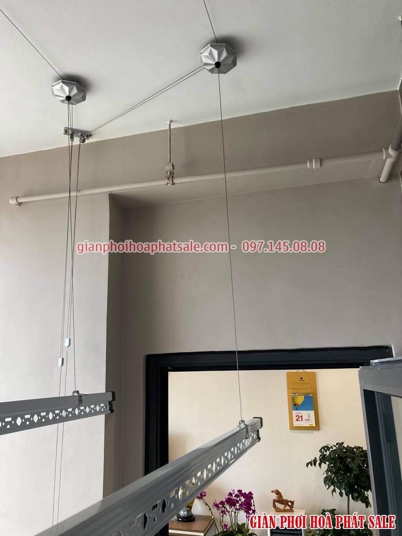 Hình ảnh giàn phơi Hòa Phát KS950 lắp tại Vinhomes smart City nhà anh Tiến - 01