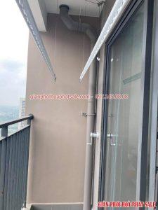 Hình ảnh giàn phơi Hòa Phát KS950 lắp tại Vinhomes Ocean Park nhà anh Tình - 01
