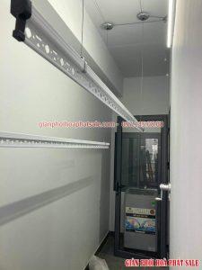 Lắp giàn phơi quần áo chung cư tại Rose Town Ngọc Hồi nhà chị Tú - 04