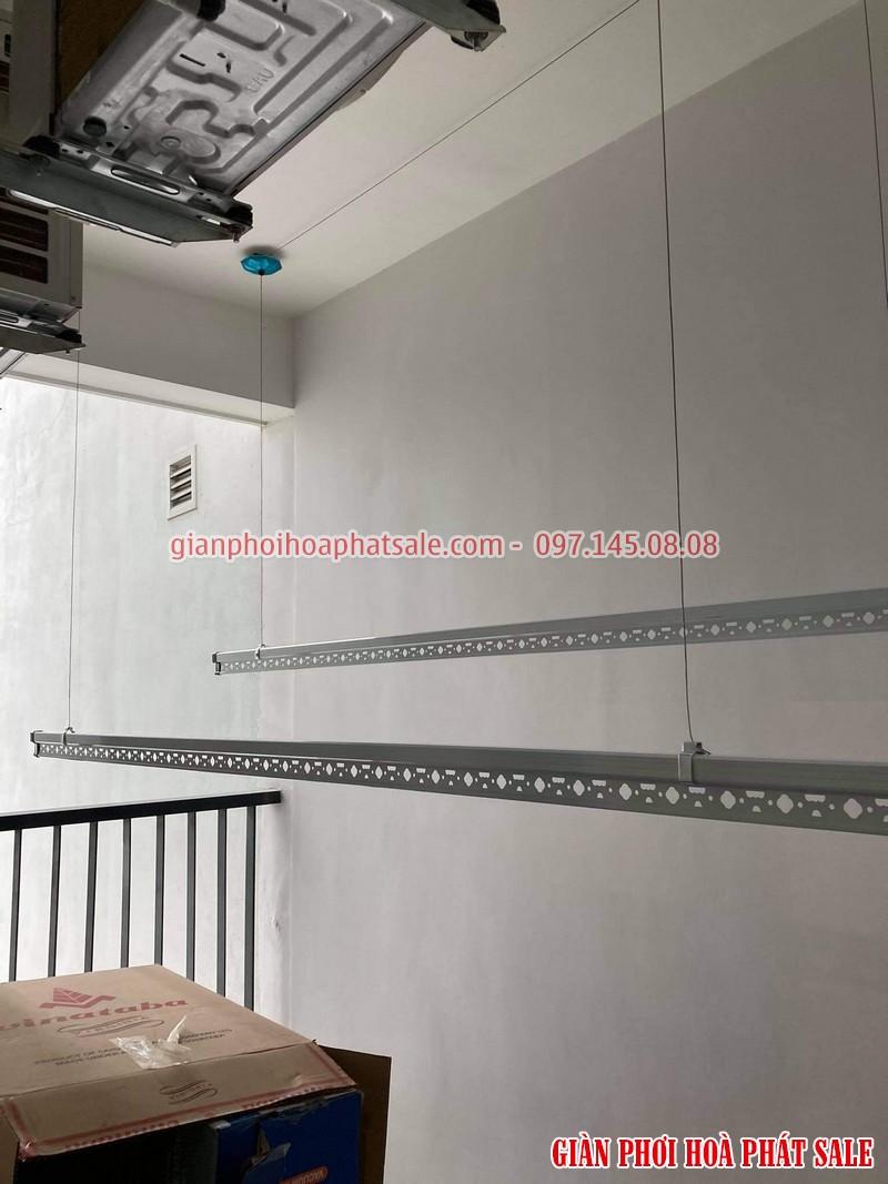 Lắp giàn phơi Gamuda City chỉ 790k bộ Hòa Phát KS950 tại tòa The One nhà anh Hiển - 01