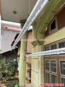 Lắp giàn phơi Ba Đình tại ngõ 99 Lê Hồng Phong nhà anh Công - 07