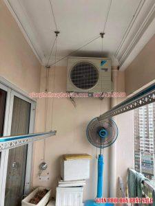 Sửa giàn phơi thông minh Cầu Giấy, thay dây cáp cho gia đình chị Lành, chung cư 17T3 Hoàng Đạo Thúy - 04