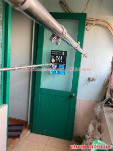 Sửa giàn phơi quần áo tại Thanh Xuân nhà chị Hà, chung cư I9, ngõ 13 Khuất Duy Tiến - 06